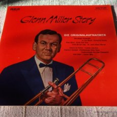 Discos de vinilo: GLENN MILLER - GLENN MILLER STORY, GERMANY1976 LP RCA. Lote 50861600