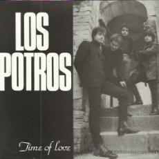 Discos de vinilo: LOS POTROS EP DAGA 1987 TIME OF LOVE LITTLE GIRL/ DON'T BREAK MY HEART/ COME ON WITH ME BEAT MOD POP. Lote 172872584