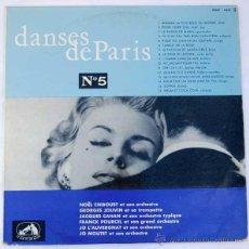 Discos de vinilo: LP DANSES DE PARIS Nº 5. Lote 50868479