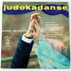 Discos de vinilo: JUDOKADANSE SURPRISE PARTIE CEINTURE TANGO LP 10 PULGADAS. ED. FRANCESA - RAPHA BROGIOTTI. Lote 50868606