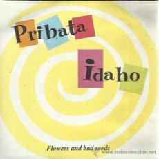 Discos de vinilo: PRIBATA IDAHO SG ELEFANT 1996 ALONE IN THE CLOUDS/ FLOWERS AND BAD SEEDS BYRDS VINILO BLANCO. Lote 50870476