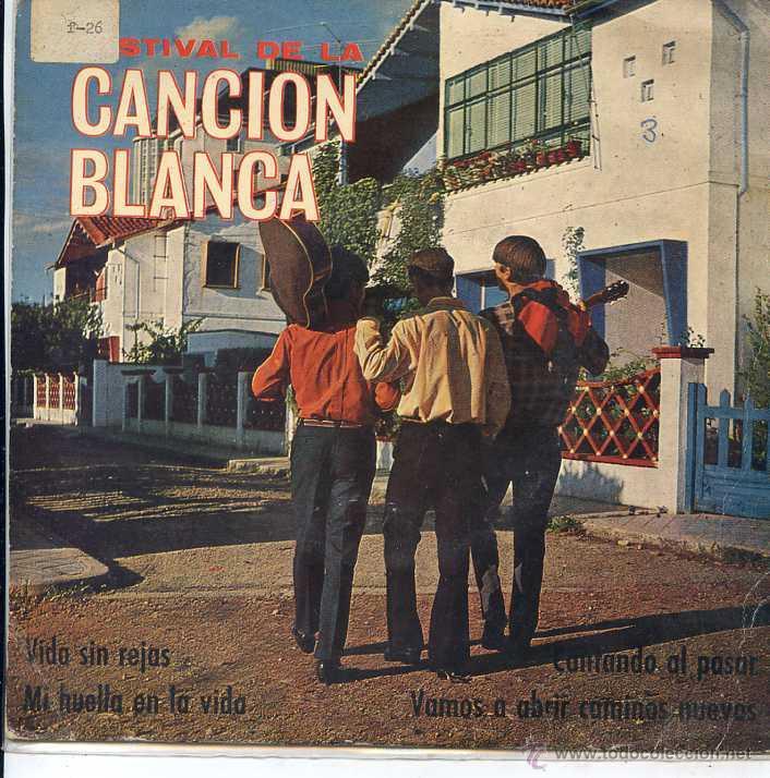 FESTIVAL DE LA CANCION BLANCA / VIDA SIN REJAS / MI HUELLA EN LA VIDA + 2 (EP 1967) (Música - Discos de Vinilo - EPs - Otros Festivales de la Canción)