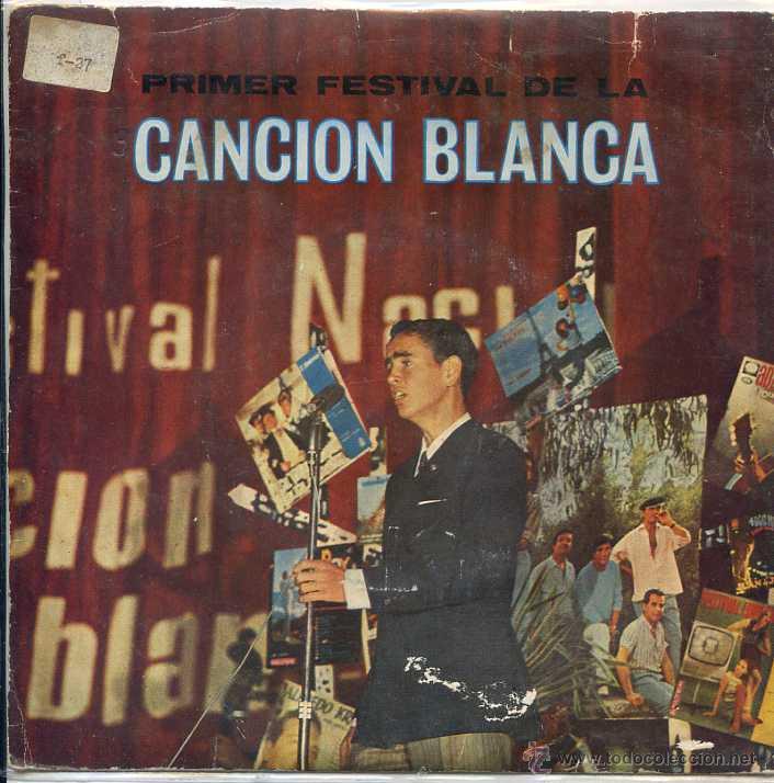 PRIMER FESTIVAL DE LA CANCION BLANCA / UN CHICO DE LA NUEVA OLA / NOVEDAD + 2 (EP 1968) (Música - Discos de Vinilo - EPs - Otros Festivales de la Canción)