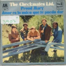 Vinyl-Schallplatten - THE CHECKMATES LTD. / PROUD MARY / AMOR ES LO UNICO QUE TE PUEDO DAR (SINGLE 1969) - 50871493