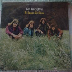 Discos de vinilo: TEN YEARS AFTER ( A SPACE IN TIME ) 1971 SPAIN LP33 CHRYSALIS-1981. Lote 50872585