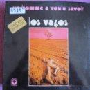Discos de vinilo: LP - LOS VAGOS - UN HOMME A VOULU SAVOIR (FRANCE, ARC EN CIEL RECORDS 1974, PORTADA DOBLE). Lote 50872865