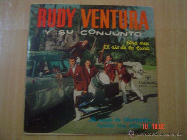 RUDY VENTURA Y SU CONJUNTO.- COLUMBIA 1962 (Música - Discos - Singles Vinilo - Grupos Españoles 50 y 60)