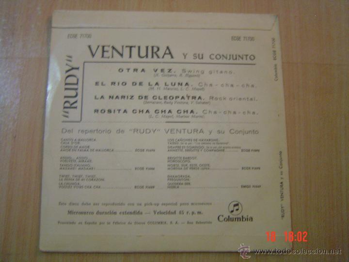 Discos de vinilo: RUDY VENTURA Y SU CONJUNTO.- COLUMBIA 1962 - Foto 2 - 50874911