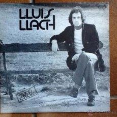 Discos de vinilo: LLUÍS LLACH - EDICIÓ ESPECIAL X CAIXA D'ESTALVIS COMARCAL DE MANLLEU (MOVIEPLAY, 1976) LP. Lote 50875716