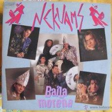 Disques de vinyle: NEKUAMS - BAILA MORENA / BLACK MIX (SINGLE PROMO ESPAÑOL DE 1991). Lote 50884768