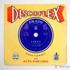 Discos de vinilo: DISCOFLEX DE FRANZ LISZT. Lote 50885917