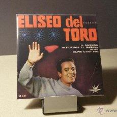 Discos de vinilo: ELISEO DEL TORO IL SILENZIO +3 EP. Lote 50889836