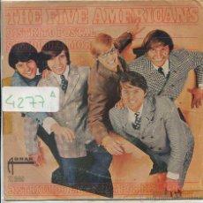Discos de vinilo: THE FIVE AMERICANS / DISTRITO POSTAL / SONIDO DE AMOR (SINGLE 1967). Lote 50890309