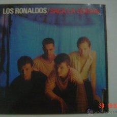 Discos de vinilo: LOS RONALDOS.- SACA LA LENGUA.- EMI 1988. Lote 50903576