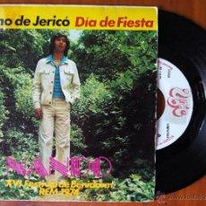 Discos de vinilo: NANDO, CAMINO DE JERICO (UNIC EKIPO 1974) SINGLE XVI FESTIVAL DE BENIDORM. Lote 50905575