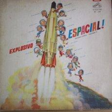 Discos de vinilo: LP ARGENTINO DE ARTISTAS VARIOS EXPLOSIVO ESPACIAL SEGUNDA ÉPOCA VOLUMEN 1 AÑO 1963. Lote 188427992