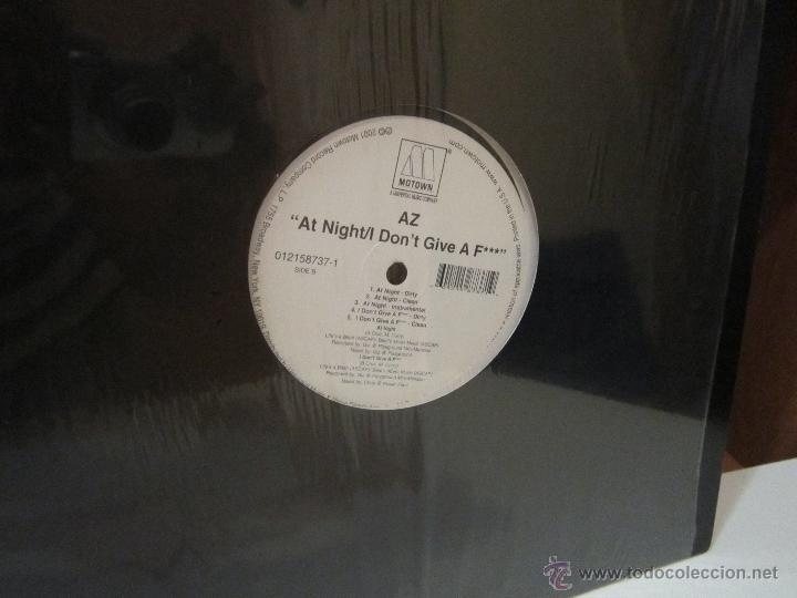 Discos de vinilo: AZ - PROBLEMS - MOTOWN RECORD COMPANY - AÑO 2001 - HIP HOP - EPs - [EX+/EX] - Foto 2 - 50905781