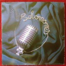 Discos de vinilo: SOLOMONES, EL BRILLO DE TU ALMA (GAL & CIA 1992) SINGLE ESPAÑA GATEFOLD. Lote 50910614