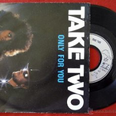 Discos de vinilo: TAKE TWO, ONLY FOR YOU (JUPITER 1988) SINGLE. Lote 50914426