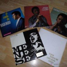 Discos de vinilo: RARO LOTE LP ANTIGUO VINILO FLAMENCO CANTE FOSFORITO JOSE MENESE HISTORIA CANTE GITANO ANDALUZ. Lote 50918370
