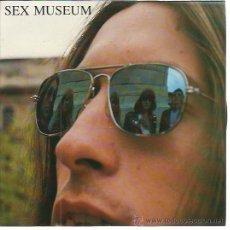 Discos de vinilo: SEX MUSEUM SG ROMILAR D 1989 GET LOST/ FREE LIVING GARAGE MALASAÑA . Lote 50919263