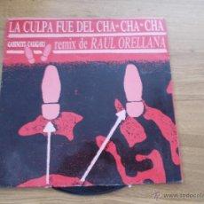 Discos de vinilo: GABINETE CALIGARI. LA CULPA FUÉ DEL CHA CHA CHA.. Lote 50920354