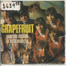 Discos de vinilo: GRAPEFRUIT / QUERIDA DELILAH / LA BOTA MUERTA (SINGLE 1968). Lote 50922859