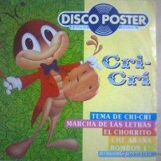 Discos de vinilo: CRI CRI. Lote 50924465