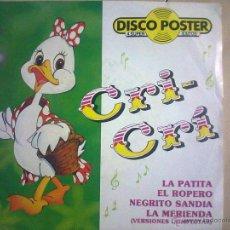 Discos de vinilo: CRI CRI. Lote 50924500