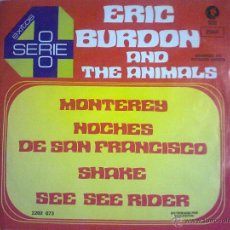 Discos de vinilo: ERIC BURDON AND THE ANIMALS. Lote 50924685