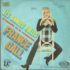 Discos de vinilo: FRANCE GALL SINGLE SELLO MOVIEPLAY AÑO 1970 EDITADO EN ESPAÑA. Lote 50924783