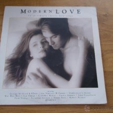 Discos de vinilo: MODERN LOVE.17 OF TODAY´S CLASSIC LOVE SONGS. Lote 50927242