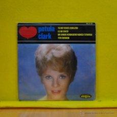 Discos de vinilo: PETULA CLARK - TU NO TIENES CORAZON + 3 - EP. Lote 50923810