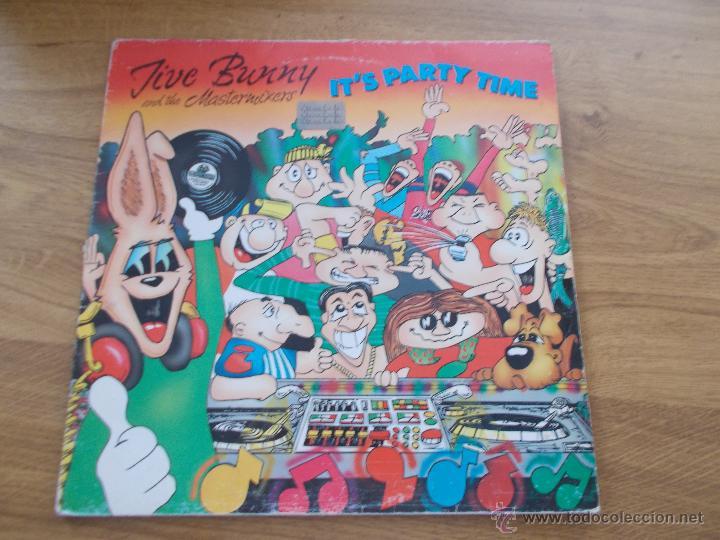 JIVE BUNNY AND MASTERMIXERS (Música - Discos - LP Vinilo - Disco y Dance)