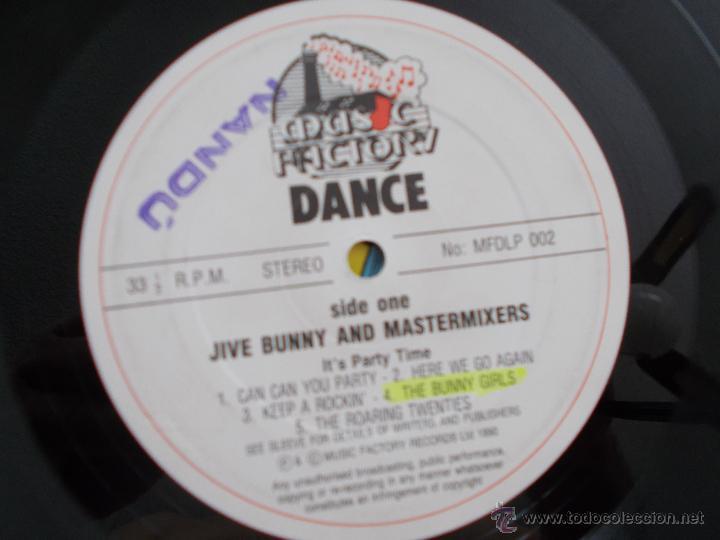 Discos de vinilo: JIVE BUNNY AND MASTERMIXERS - Foto 2 - 83790342