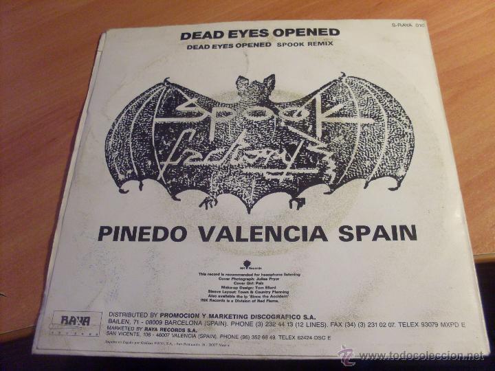 Discos de vinilo: SEVERED HEADS (DEAD EYES OPENED INCLUYE SPOOK REMIX) SINGLE ESPAÑA 1987 RAYA RECORDS (VG+/EX-)(EPI17 - Foto 2 - 50930595