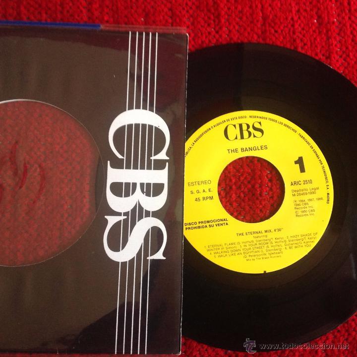 THE BANGLES SG. THE ETERNAL MIX NUEVO PROMO (Música - Discos de Vinilo - EPs - Pop - Rock Extranjero de los 90 a la actualidad)