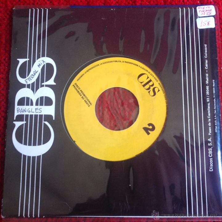 Discos de vinilo: THE BANGLES SG. THE ETERNAL MIX NUEVO PROMO - Foto 2 - 50932251