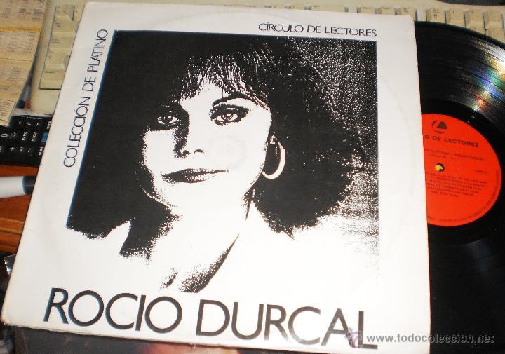 ROCIO DURCAL DOBLE LP COLECCION DE PLATINO CIRCULO DE LECTORES.COLOMBIA.1989.VER FOTOS.CARPETA DOBLE (Música - Discos - LP Vinilo - Solistas Españoles de los 50 y 60)