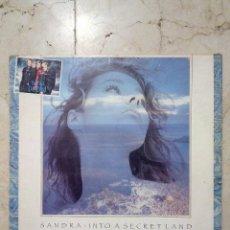 Discos de vinilo: LP SANDRA - INTO A SECRET LAND - VIRGIN 1988.. Lote 50933966