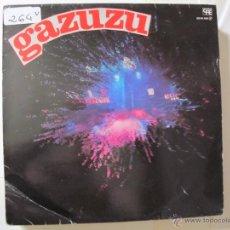 Disques de vinyle: LP - GAZUZU - SAME (PROMOCIONAL ESPAÑOL, DISCOS CFE 1984). Lote 50934855