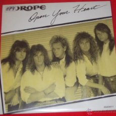 Discos de vinilo: EUROPE - OPEN YOUR HEART - MADE IN SPAIN 1988 - PROMO - SINGLE. Lote 50938191
