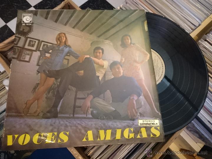 VOCES AMIGAS LP DISCO DE VINILO NOVOLA NL1024 (Música - Discos - LP Vinilo - Grupos Españoles 50 y 60)