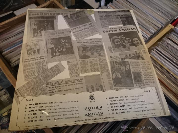 Discos de vinilo: Voces amigas lp Disco de vinilo Novola NL1024 - Foto 2 - 50941399