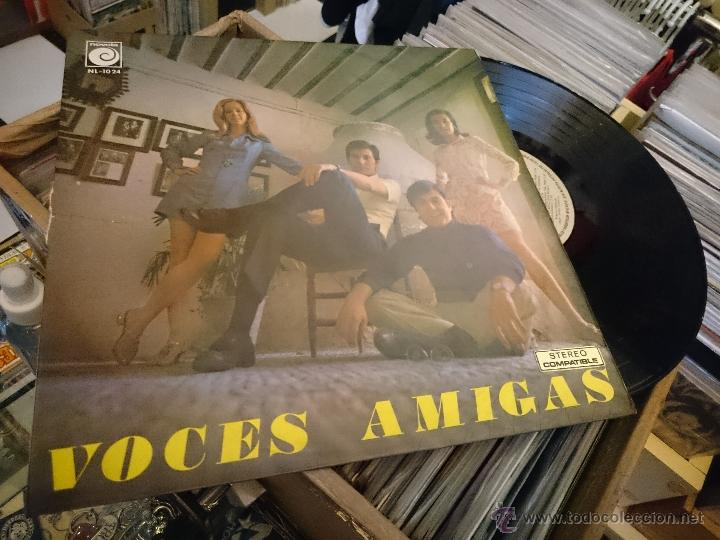 Discos de vinilo: Voces amigas lp Disco de vinilo Novola NL1024 - Foto 6 - 50941399