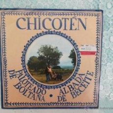 Discos de vinilo: CHICOTEN - ALDABA DE BECEITE - PALOTEADO DE BOLTAÑA - MOVIE PLAY 1979 - NUEVO. Lote 50943366