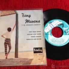 Discos de vinilo: TONY MURERA Y SU ORQUESTA MUSETTE EP. Lote 50945291