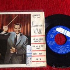 Discos de vinilo: LAWRENCE WELK EP THE GIRL FROM BARABADOS + 3 TEMAS. Lote 50945337