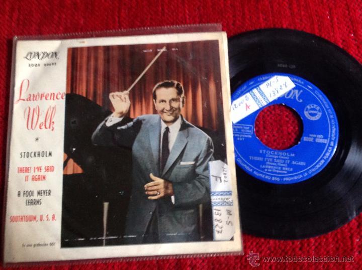 LAWRENCE WELK EP STOCKHOLM + 3 TEMAS (Música - Discos de Vinilo - Maxi Singles - Pop - Rock Extranjero de los 50 y 60)