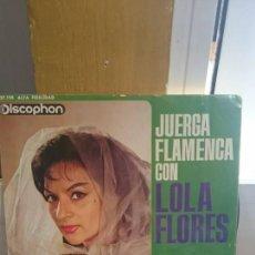 Discos de vinilo: LOLA FLORES / EL TELEVISOR / DISCOPHON 1963. Lote 50948182